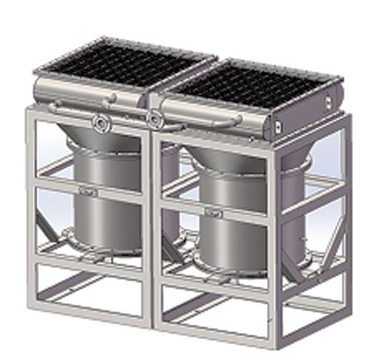 海上平台滑油冷却装置