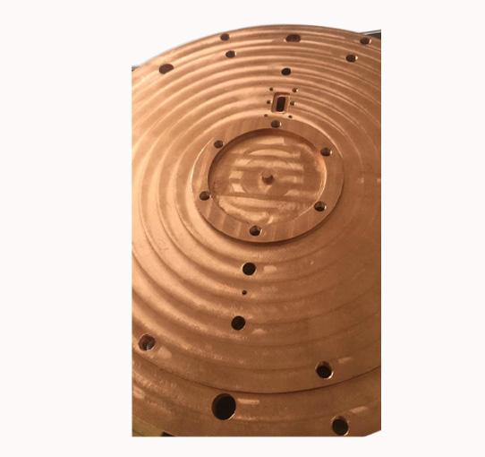紫铜加热丝散热器